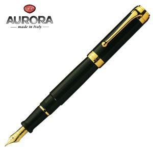 万年筆 名入れ アウロラ タレンタム ゴールドクリップ 万年筆 ブラック D12N|nomado1230