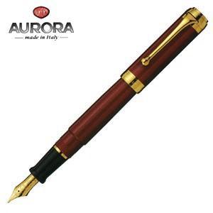 万年筆 名入れ アウロラ タレンタム ゴールドクリップ 万年筆 ボルドー D12X|nomado1230