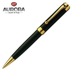 高級 ボールペン 名入れ アウロラ タレンタム ゴールドクリップ ボールペン ブラック D32N|nomado1230