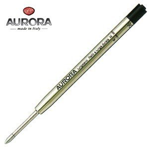 替芯 ボールペン アウロラ ボールペン替芯 大 No132 5本セット 黒 1325N|nomado1230