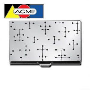 カードケース アクメスタジオ デザイナー チャールズ&レイ・イームズ DOTSシリーズ エッチド カードケース C2E11BC|nomado1230