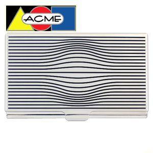 カードケース アクメスタジオ デザイナー カリム・ラシッド OPTIKALシリーズ エッチド カードケース C2KR24BC|nomado1230