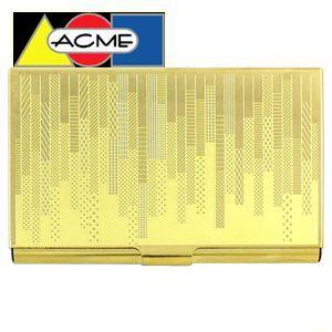 カードケース アクメスタジオ デザイナー カール・ザーン HATCHシリーズ エッチド カードケース C2KZ01BC|nomado1230