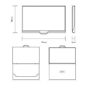 名刺入れ アクメスタジオ デザイナー アントニ・ガウディ MOSAICシリーズ ビジネス カードケース CAG01BC|nomado1230|05