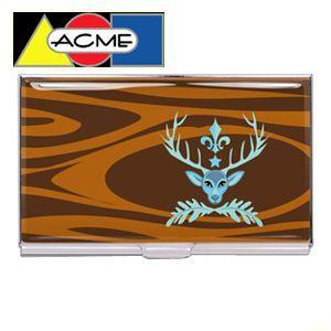 アクメスタジオ デザイナー ビヴ・ホーグ DEER PRUDENCEシリーズ ビジネス カードケース CHBO01BC|nomado1230