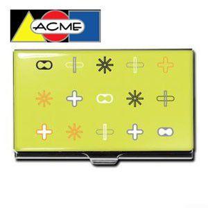 名刺入れ アクメスタジオ デザイナー カリム・ラシッド LIMEシリーズ ビジネス カードケース CKR01BC nomado1230