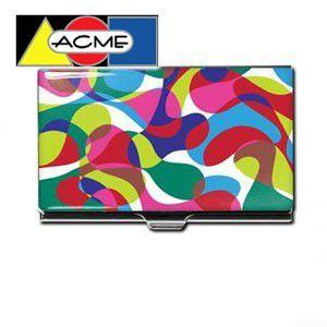 名刺入れ アクメスタジオ デザイナー カリム・ラシッド BLOBNIKシリーズ ビジネス カードケース CKR23BC|nomado1230