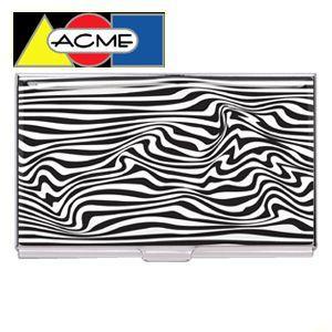 名刺入れ アクメスタジオ デザイナー カリム・ラシッド KRAZEシリーズ ビジネス カードケース CKR25BC nomado1230