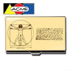 名刺入れ アクメスタジオ デザイナー レオナルド・ダ・ヴィンチ SCIENCEシリーズ ビジネス カードケース CLD01BC|nomado1230