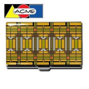 名刺入れ アクメスタジオ デザイナー フランク・ロイド・ライト HOME&STUDIOシリーズ ビジネス カードケース CW38BC|nomado1230