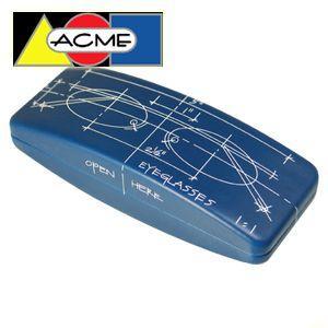 メガネケース オシャレ アクメスタジオ デザイナー コンスタンチン・ボイム BLUEPRINTシリーズ アイグラスケース ECB01EC|nomado1230