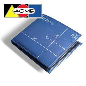 2つ折 財布 アクメスタジオ デザイナー コンスタンチン・ボイム BLUEPRINTシリーズ レザー LCB01BCW|nomado1230