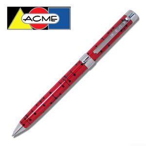 高級 ボールペン アクメスタジオ デザイナー チャールズ&レイ・イームズ DOTS-REDシリーズ ブランド X P6E12|nomado1230