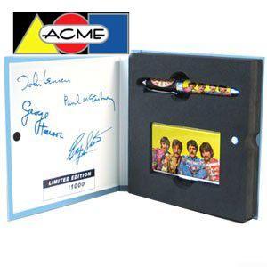 アクメスタジオ The BEATLES 3rd COLLECTION ローラーボールペン&カードケースセット SGT PEPPER'S LONELY HEARTS CLUB BAND PBEA08/SET nomado1230