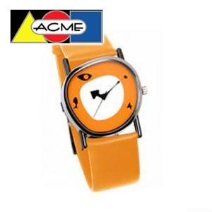 アクメスタジオ デザイナー チャールズ&レイ・イームズ COLLAGEシリーズ 時計 オレンジ QE01W-1|nomado1230