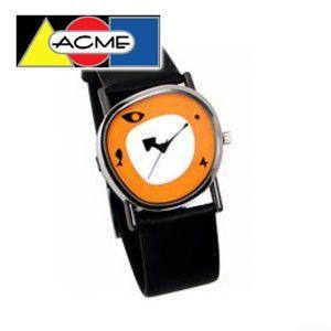 アクメスタジオ デザイナー チャールズ&レイ・イームズ COLLAGEシリーズ 時計 ブラック QE01W|nomado1230