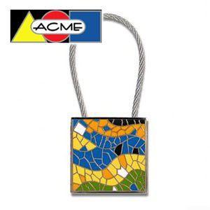 キーホルダー アクメスタジオ デザイナー アントニ・ガウディ MOSAICシリーズ キーリング ZAG01KR|nomado1230