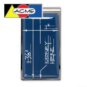 マネークリップ アクメスタジオ デザイナー コンスタンチン・ボイム BLUEPRINTシリーズ マネークリップ ZCB01MC|nomado1230