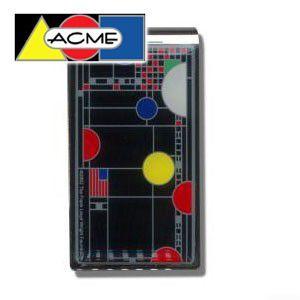 マネークリップ アクメスタジオ デザイナー フランク・ロイド・ライト PLAYHOUSE-BLACKシリーズ マネークリップ ZW06MC|nomado1230