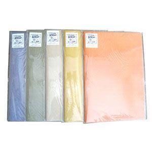 ノート 石原紙工 Kシリーズ 橙 クラフト スクラップノート A2サイズ K8-1|nomado1230