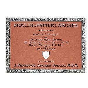 スケッチパッド アルシェ アルシュ水彩紙 ブロック 300グラム 180X260ミリ 極細目 スケッチパッド 177-183|nomado1230