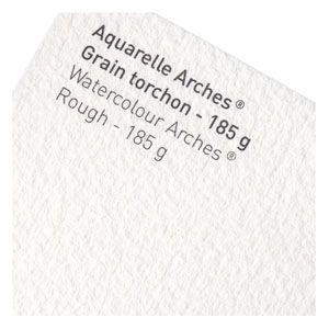 スケッチパッド アルシェ アルシュ水彩紙 185グラム トルション 荒目 10枚セット 4001-200|nomado1230