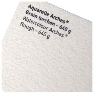 スケッチパッド アルシェ アルシュ水彩紙 超特厚 640グラム トルション 荒目 5枚セット 4001-235 nomado1230