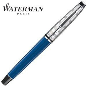 万年筆 名入れ ウォーターマン ブルーオブセッション コレクション エキスパート デラックス 万年筆 ブルーCT 1904586AS|nomado1230