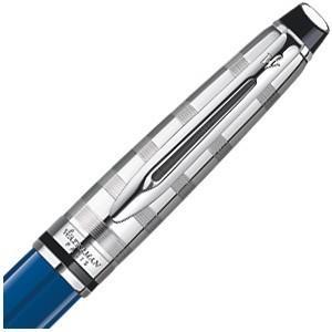 高級 ボールペン 名入れ ウォーターマン ブルーオブセッション コレクション エキスパート デラックス ボールペン ブルーCT 1904589AS|nomado1230|03