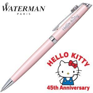 ウォーターマン メトロポリタンスペシャルエディション ハローキティ HELLO KITTY 45th Anniversary ボールペン ローズウッドCT|nomado1230