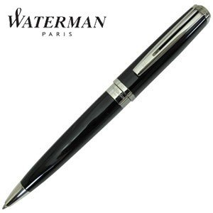 高級 ボールペン 名入れ ウォーターマン エクセプション スリム ボールペン ブラックラッカーST S2223342|nomado1230