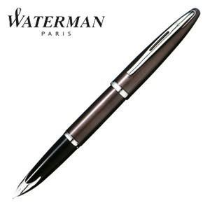 万年筆 名入れ ウォーターマン カレン 万年筆 フロスティーブラウン S2229153|nomado1230