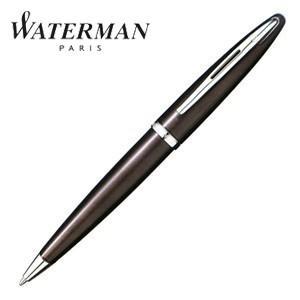 高級 ボールペン 名入れ ウォーターマン カレン ボールペン フロスティーブラウン S2229352|nomado1230