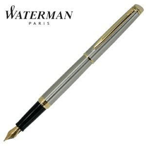 万年筆 名入れ ウォーターマン メトロポリタン エッセンシャル 万年筆 ステンレススチールGT S225916-|nomado1230