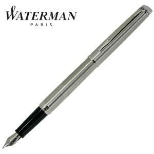 万年筆 名入れ ウォーターマン メトロポリタン エッセンシャル 万年筆 ステンレススチールCT S225917-|nomado1230