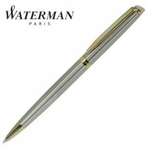 高級 ボールペン 名入れ ウォーターマン メトロポリタン エッセンシャル ボールペン ステンレススチールGT S2259362|nomado1230