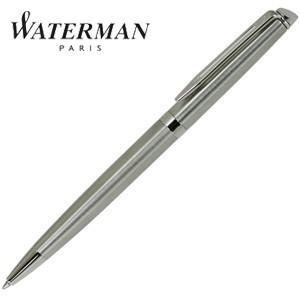 高級 ボールペン 名入れ ウォーターマン メトロポリタン エッセンシャル ボールペン ステンレススチールCT S2259372|nomado1230