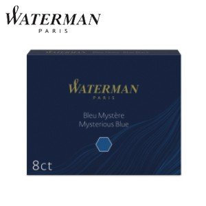 万年筆 インク ウォーターマン カートリッジインク スタンダードSTD23 ブラック S0110850|nomado1230