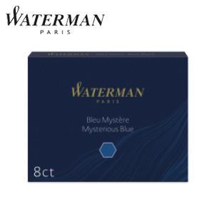 万年筆 インク ウォーターマン カートリッジインク スタンダードSTD23 ブルーブラック S0110910 nomado1230