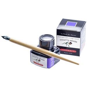 万年筆 インク エルバン トラディショナルボトルインク 30ミリリットル ビルマの琥珀 HB13041|nomado1230|02