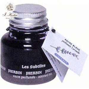 万年筆 エルバン 香り付き ボトルインク 30ミリリットル ラベンダーブルー HB13710|nomado1230