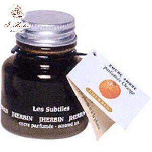 万年筆 エルバン 香り付き ボトルインク 30ミリリットル オレンジアンバー HB13756|nomado1230