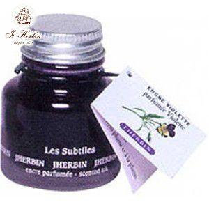 万年筆 エルバン 香り付き ボトルインク 30ミリリットル ヴァイオレットパープル HB13777|nomado1230