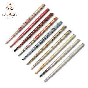 つけペン エルバン マーブルペン軸 マーブルアソート 10個セット HB22299|nomado1230