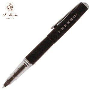 ローラーボール 名入れ エルバン カートリッジインク用 ペン ブラック HB-pen05 nomado1230