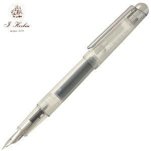 万年筆 エルバン カートリッジインク用 万年筆 スケルトン hb-pen06|nomado1230
