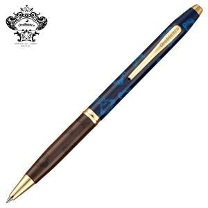 高級 ボールペン オロビアンコ MISTRAL ボールペン ネイビー THV-PR02DB|nomado1230