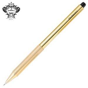 シャーペン 高級 名入れ オロビアンコ 真鍮軸 1.3ミリ シャープペンシル ゴールド THV-PS02|nomado1230
