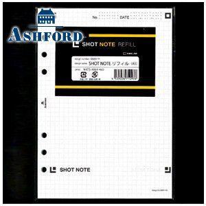 リフィル A5 アシュフォード SHOT NOTE A5サイズ リフィール 5セット No. 0689-100|nomado1230