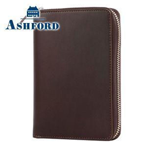 アシュフォード リフィールプレゼント キュリオ ミニ6 13ミリ手帳 ブラウン No. 1218-022|nomado1230